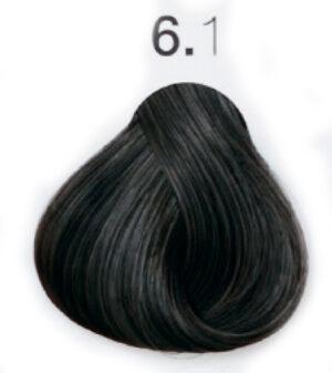 Краска для волос 6.1 Тёмный блондин холодный