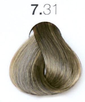 Краска для волос 7.31 Блондин бежевый