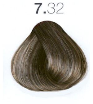 Краска для волос 7.32 Блондин золотистый ирис