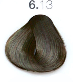 Краска для волос 6.13 Тёмный блондин матовый