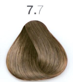 Краска для волос 7.7 Блондин коричневый