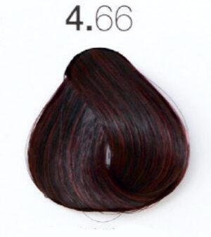 Краска для волос 4.66 Каштановый интенсивный красный