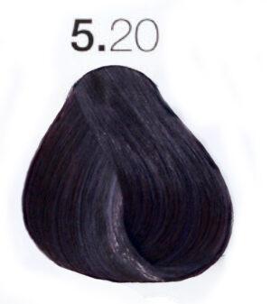 Краска для волос 5.20 Светло-каштановый интенсивный фиолетовый