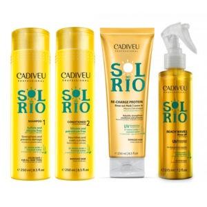 """Sol do Rio: Набор для восстановления волос: """"Умная система"""""""