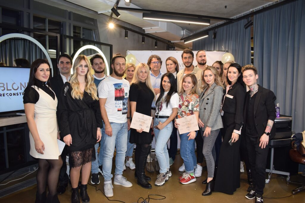 Cem Gumush и Anteo Pontoni на презентации Blonde Reconstructor'19