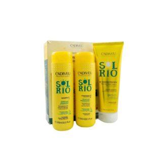 Sol do Rio - Kit Home Care (шампунь, кондиционер, маска-протеин 250мл)