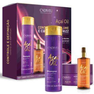 Acai Oil - Kit Home Care (шампунь, маска, масло 60мл)